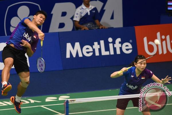Praveen/Debby melangkah ke putaran dua kejuaraan Asia