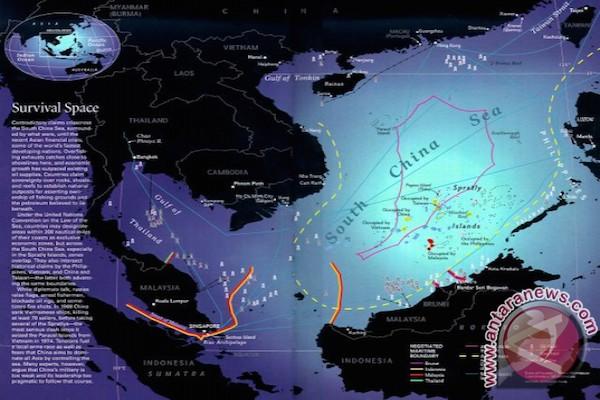 Pemerintah tak ganti nama Laut China Selatan