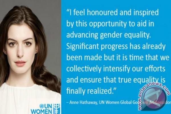Anne Hathaway Jadi Duta PBB