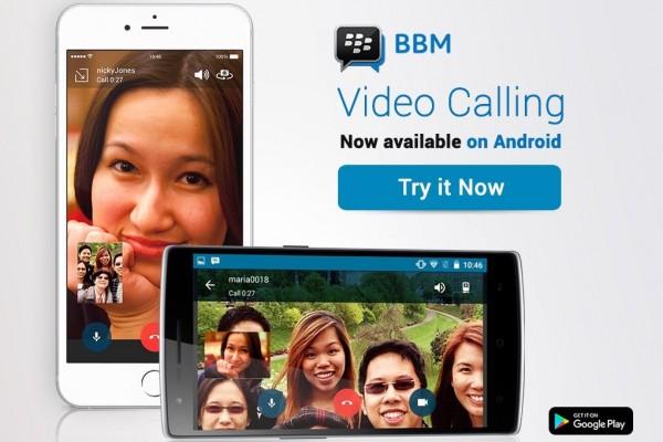 Fitur panggilan video BBM kini tersedia secara global
