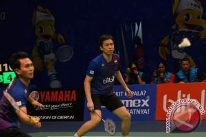 Hendra/Ahsan berjuang keras melewati putaran pertama Indonesia Open