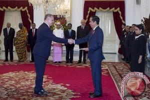 Presiden Jokowi terima surat kepercayaan penuh delapan dubes