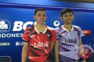 Ahsan/Hendra puji permainan Fajar/Rian di Indonesia Open