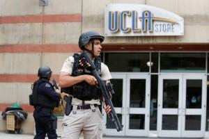 Penyerang tembaki kampus UCLA sebelum bunuh diri