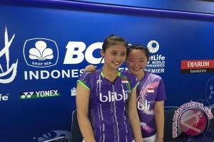 Tiara/Rizki kandas di perempat final