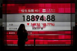 Indeks Hang Seng justru jatuh