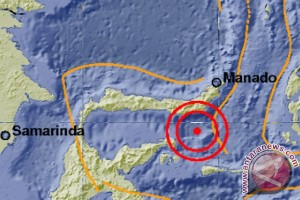 Gempa 5,0 SR guncang Gorontalo