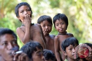 47 Orang Rimba Jambi terserang penyakit campak