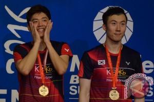 Lee Yong Dae/Yoo Yeon Seong rebut juara Indonesia Open
