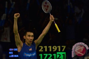 Lee Chong Wei absen di Djarum Superliga Badminton