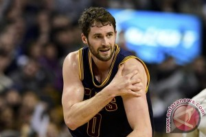 Final NBA - Kevin Love belum pasti main pada Game 3