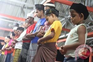 Tarawih Imigran Rohingya