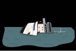 Nelayan Rembang temukan bangkai kapal tenggelam