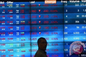 IHSG ditutup melemah 22,54 poin
