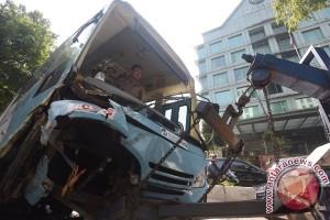Kecelakaan Bus Transjakarta