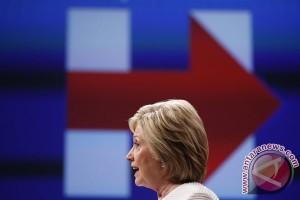 Jika hari ini Pemilu AS, maka Hillary Clinton yang menang
