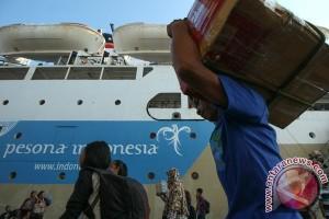 Penumpang Kapal Pelni di Ternate melonjak