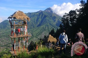 Wisata Pemandangan Gunung Merapi
