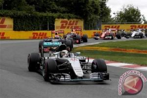 Hamilton start terdepan di F1 GP Sepang, Vettel paling buncit