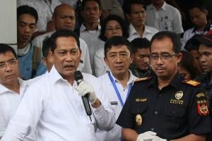 Bea Cukai - BNN gerebek gudang narkoba Rawa Bebek Jakarta Utara