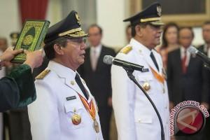 Pelantikan Gubernur Sulawesi Tengah