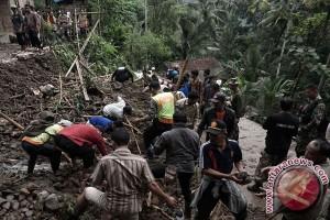 Tujuh korban hilang banjir-longsor Jateng ditemukan