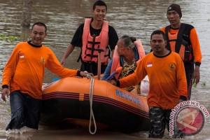 Banjir meluapnya Sungai Bengawan Solo mulai surut