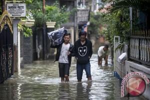 Banjir Kampung Makasar Jakarta Timur