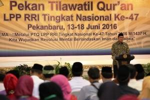 Pekanbaru juara umum MTQ tingkat Provinsi Riau