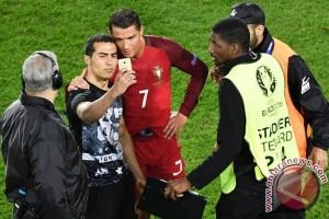 Euro 2016 - Pemain Portugal Silva puji Ronaldo