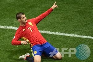 Euro 2016 - Spanyol ditahan Kroasia 1-1 pada babak pertama.