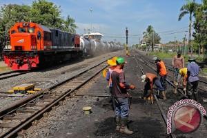 KAI Semarang petakan 15 titik rawan banjir-longsor