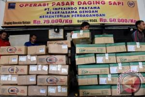 Bulog Bengkulu gelar pasar murah khusus daging sapi