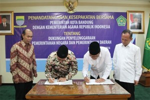 Kerjasama Kemenag dan Pemerintah Kota Bandung
