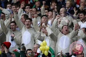 Euro 2016: Pendukung Wales larut dalam ekstasi