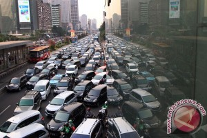 Pasukan polisi bermotor siap urai kemacetan tol