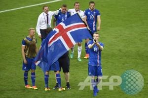 Islandia membuat sensasi lagi, menang berkat gol kebetulan