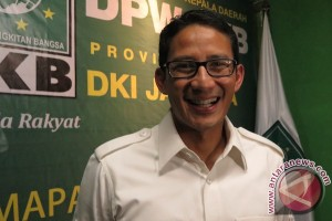 Sandiaga Uno: Atasi kemacetan Jakarta harus berbasis transportasi massal