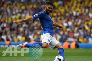 Euro 2016 - Candreva bakal absen saat Italia ladeni Spanyol
