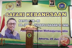 Ketua MPR sosialisasikan Empat Pilar di Ponpes Min Haajurrosyidin