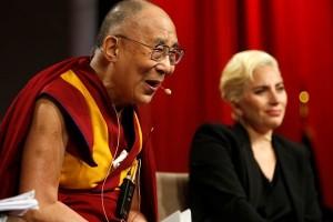 China marah Lady Gaga temui Dalai Lama