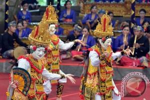 Duta Banten tampilkan Topeng Tani di PKB