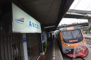 Stasiun Ancol Kembali Beroperasi