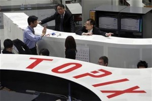 Saham-saham bursa Tokyo menguat didukung melemahnya yen
