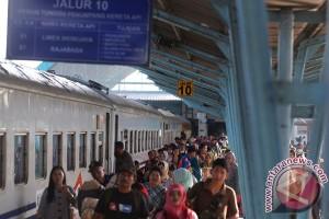 Mudik Kereta Api Di Palembang