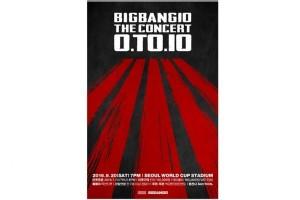 Big Bang rayakan satu dekade dengan konser besar