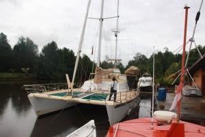 Bea Cukai Sorong tegah kapal yacht