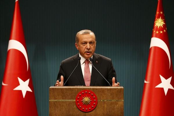 Erdogan Minta Parlemen Pertimbangkan Hukuman Mati Bagi Perencana Kudeta