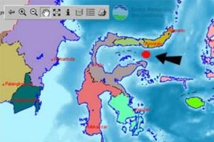 Gempa 5,2 SR guncang Gorontalo