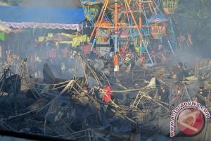 Kebakaran Pasar Pesta Kesenian Bali